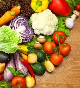Nutrition and Chiropractic, Vegetables from Garden image